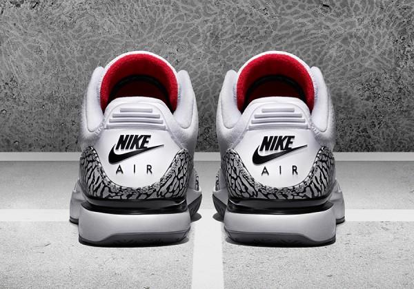 Nike Court Zoom Vapor 'AJ3 Elephant' par Jordan (5)