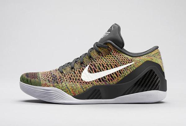 Nike Kobe 9 Elite Low 'Multicolor' (3)