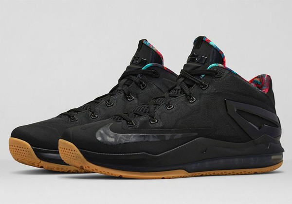 Nike Lebron 11 Low Max Black Gum (2)