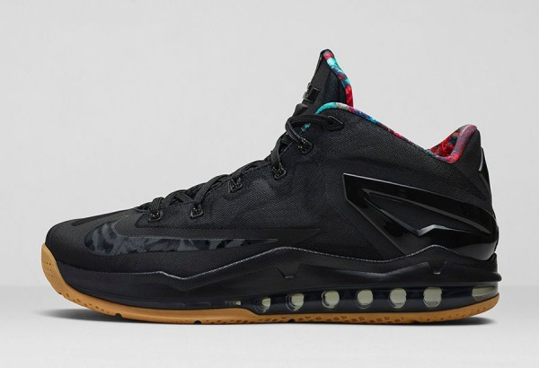 Nike Lebron 11 Low Max Black Gum (3)