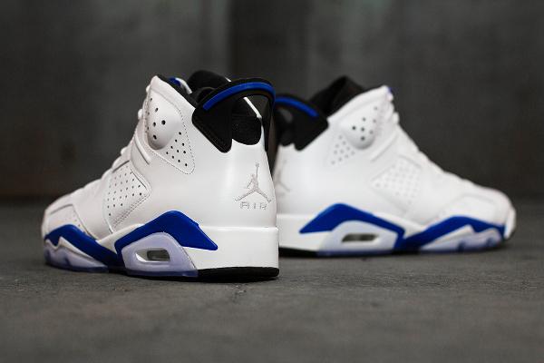 Photo Air Jordan 6 Sport Blue Retro 2014 (2)