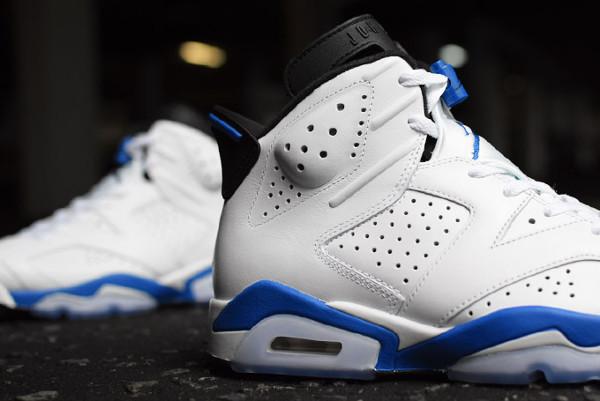Photo Air Jordan 6 Sport Blue Retro 2014 (6)