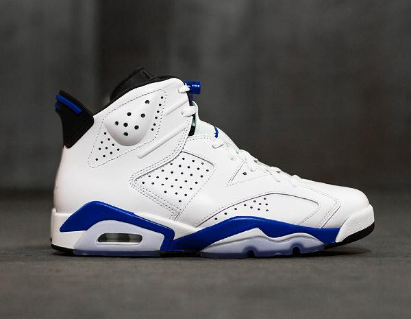 Photo Air Jordan 6 Sport Blue Retro 2014 (9)