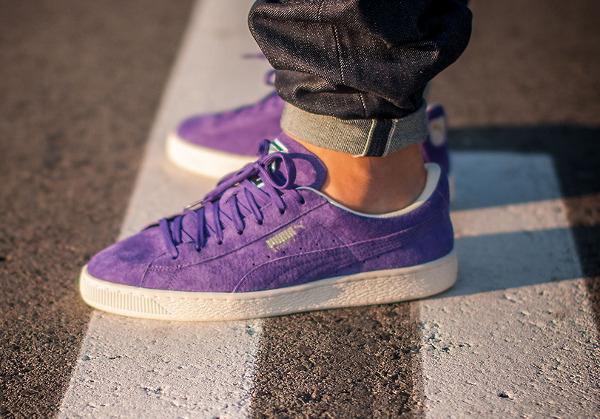 Puma States prism violet 'Summer Cooler' aux pieds