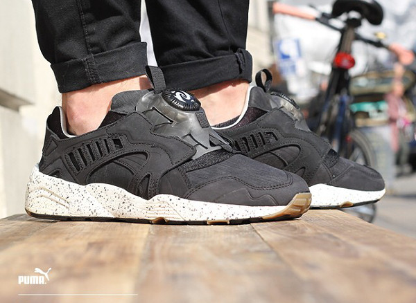 Puma Trinomic Disc Natural Calm aux pieds