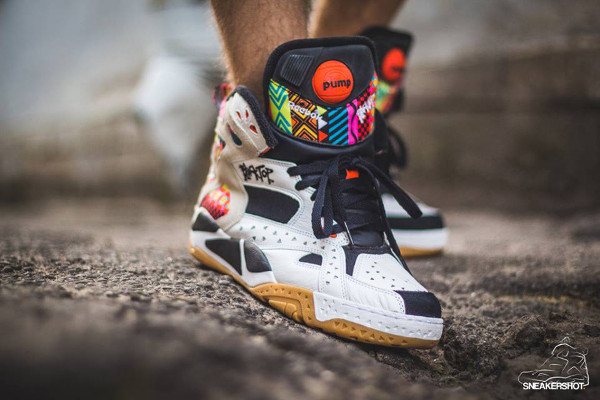 Reebok Pump Blacktop Battleground 'Wax' aux pieds (5)