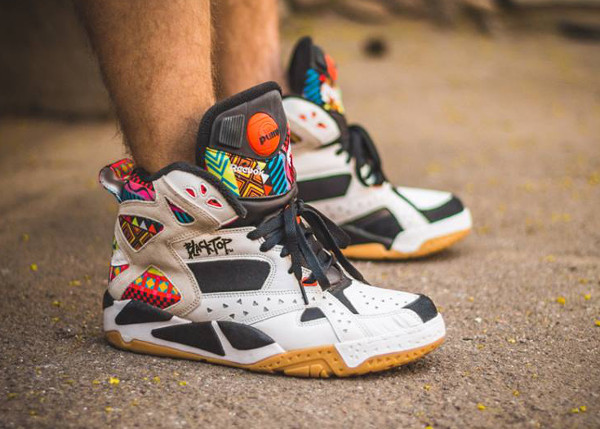 Reebok Pump Blacktop Battleground 'Wax' aux pieds (6)