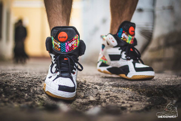 Reebok Pump Blacktop Battleground 'Wax' aux pieds (7)