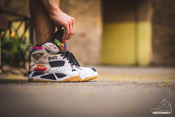 Reebok Pump Blacktop Battleground 'Wax' aux pieds (9)