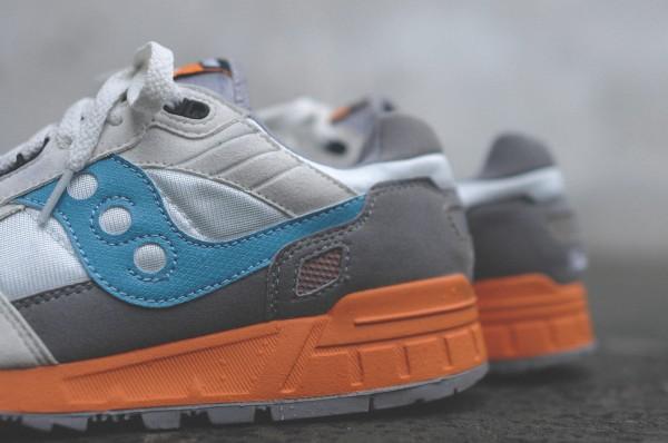 Saucony Shadow 5000 Beige Blue Orange (7)