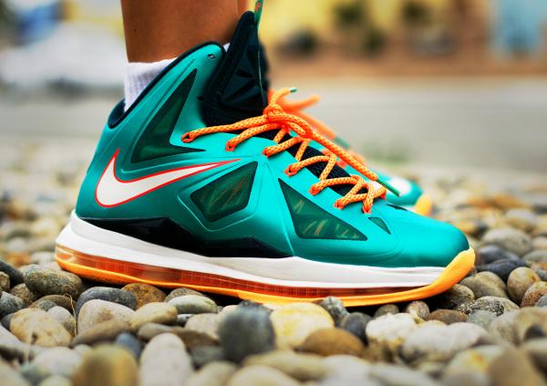 10-Nike Lebron 10 Dolphins - Tony Diamonds