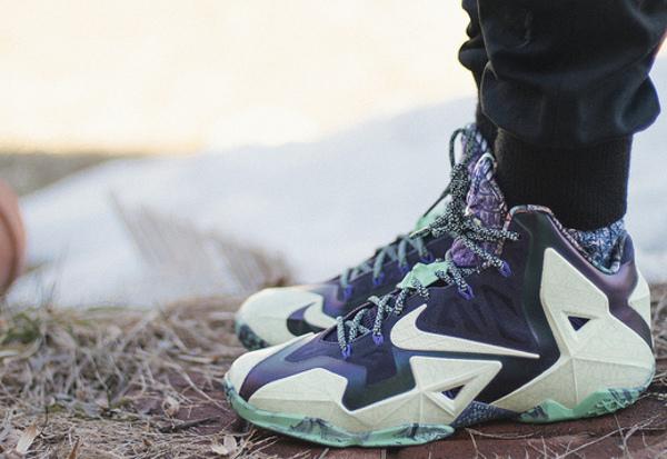17-Nike Lebron 11 Gator King - Elisha Johnthunder