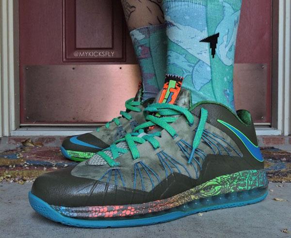 25-Nike Lebron 10 Low Reptile - MykicksFly
