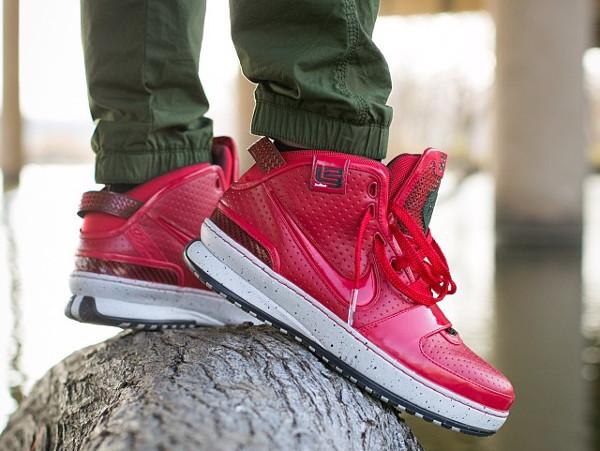 30-Nike Lebron 6 Red Apple - Junjdm