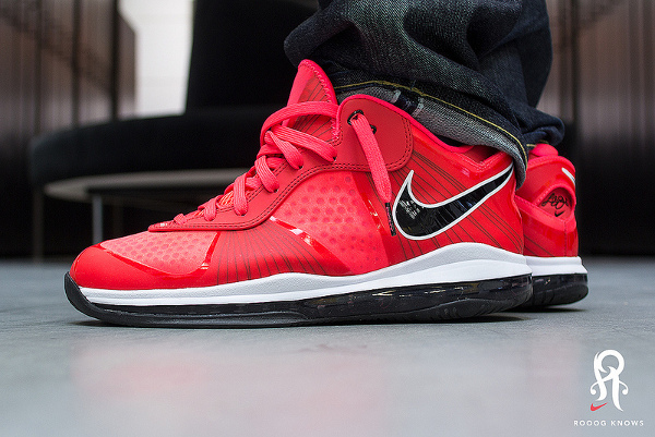 5-Nike Lebron 8 Low Solar Red - Rooog Knows