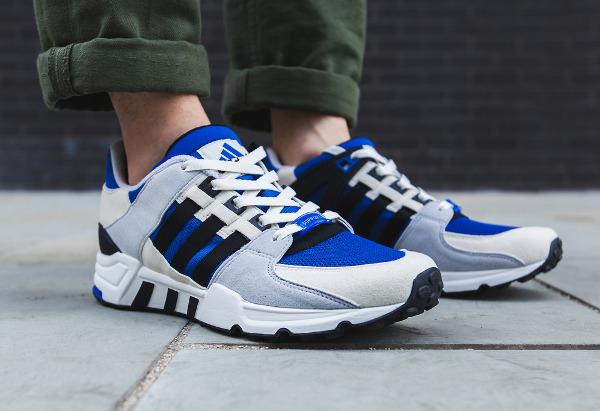 Adidas Originals Equipment Running Support 93 OG Blue Cream Grey (1)