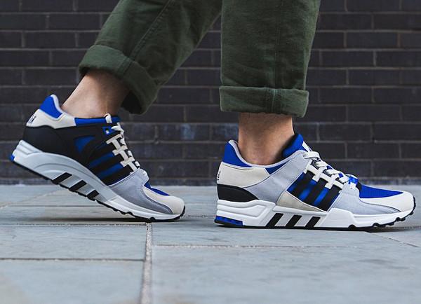 Adidas Originals Equipment Running Support 93 OG Blue Cream Grey (2)