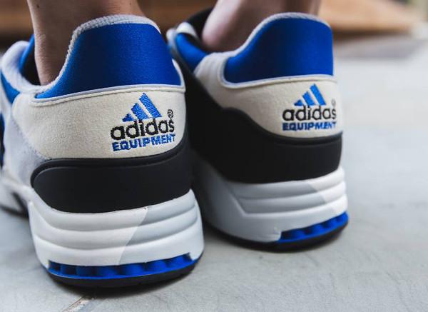 Adidas Originals Equipment Running Support 93 OG Blue Cream Grey (3)