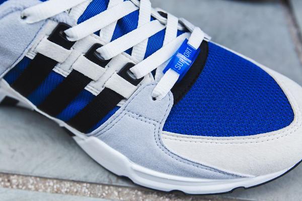 Adidas Originals Equipment Running Support 93 OG Blue Cream Grey (4)
