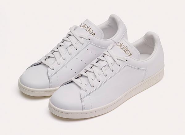 Adidas Stan Smith Premium x Colette All White (2)