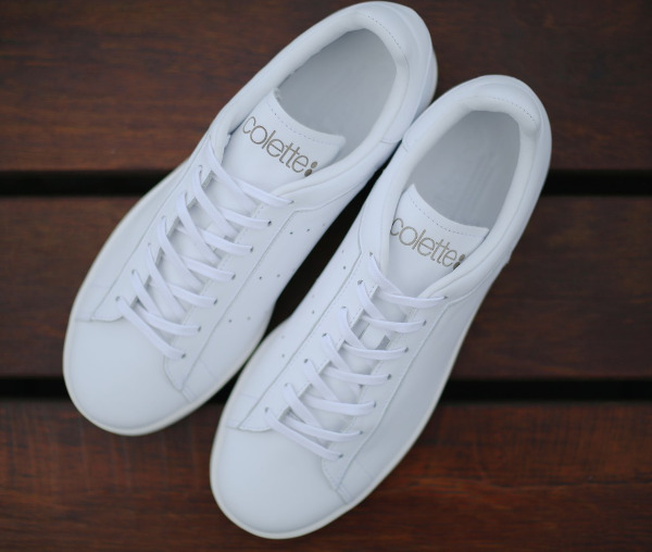 Adidas Stan Smith Premium x Colette All White (3)