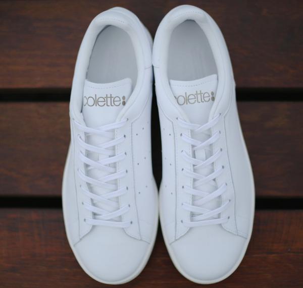 Adidas Stan Smith Premium x Colette All White (5)