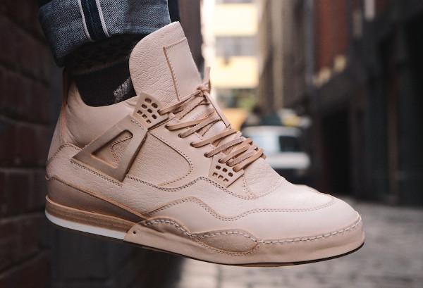 Air Jordan 4 Hender Scheme aux pieds (3)