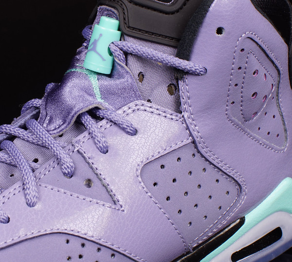 Air Jordan 6 Iron Purple/Bleached Turquoise