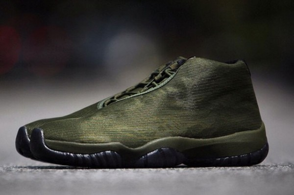 Air Jordan Future Olive Tiger Camo  (1)