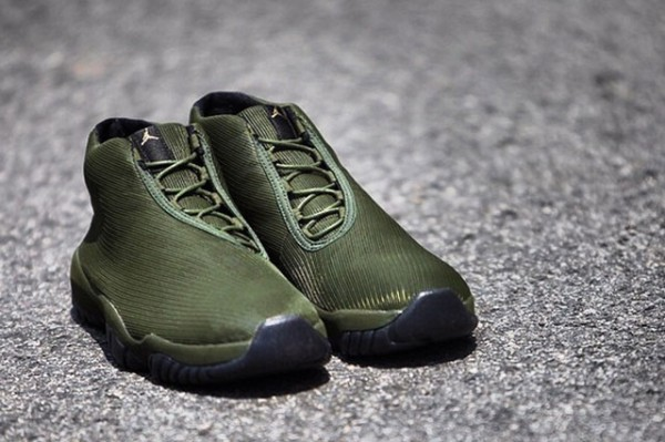 Air Jordan Future Olive Tiger Camo  (2)