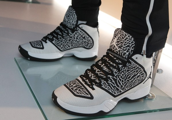 Air Jordan XX9 Black White-Light