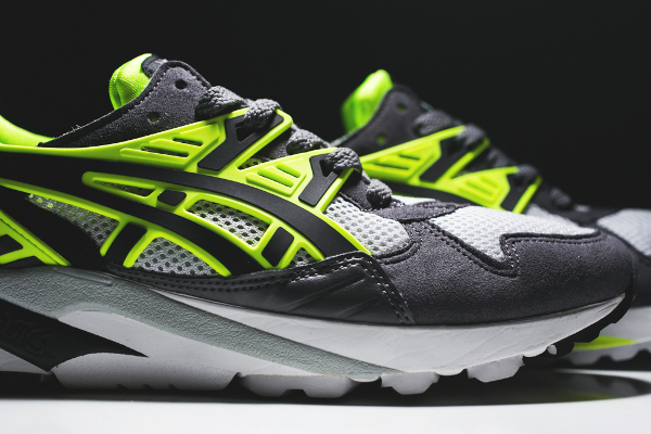 Asics Gel Kayano Trainer « Grey/Volt & Black/Black »
