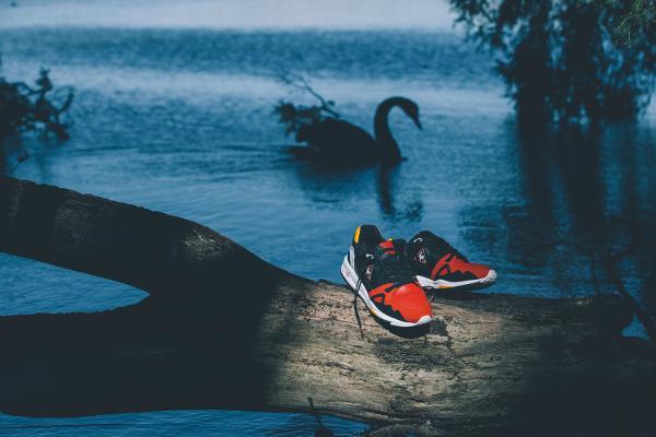 Le Coq Sportif R1000 x HAL 'Black Swan' (4)