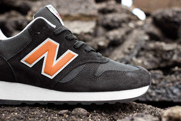 New Balance M670 Black Dark Orange (4)