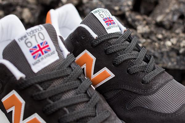 New Balance M670 Black Dark Orange (6)