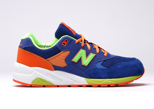 New Balance MT580 MB (Bleue Orange Vert Fluo) (2)