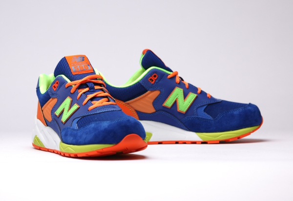 New Balance MT580 MB (Bleue Orange Vert Fluo) (4)