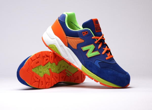 New Balance MT580 MB (Bleue Orange Vert Fluo) (5)