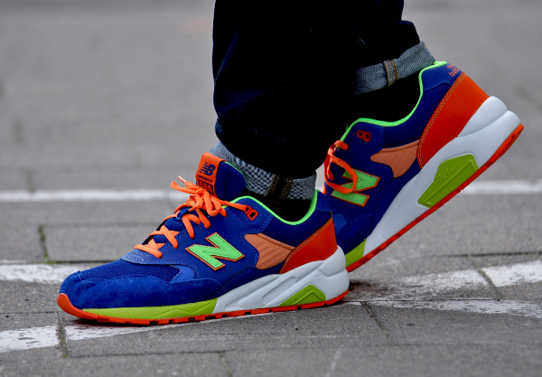 New Balance MT580 MB (Bleue Orange Vert Fluo) (8)