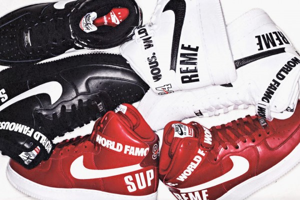 Nike Air Force 1 High x Supreme NYC