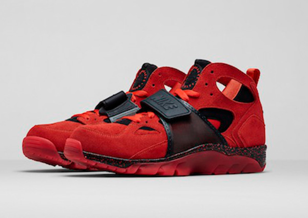 sports shoes 4c11e 07c27 Nike Air Trainer Huarache Love (Challenge Red) (6)