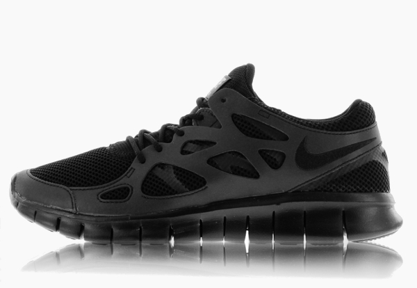 Nike Free Run 2 Triple Black
