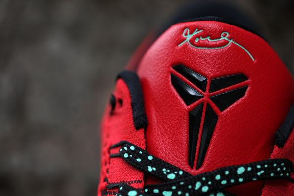 Nike Kobe 9 Elite Low (Flyknit) University Red (1)