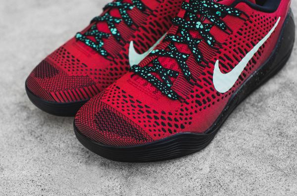 Nike Kobe 9 Elite Low (Flyknit) University Red (4)
