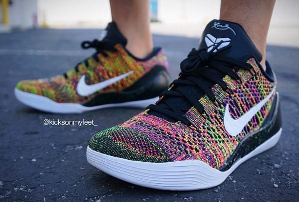 Nike Kobe 9 Elite Low ID Multicolor - Kicks On My Feet ...