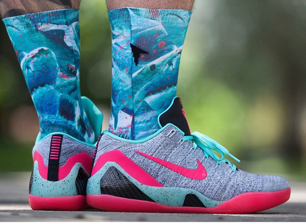 Nike Kobe 9 Elite Low ID South Beach - Crpurz