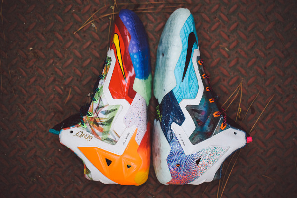 Nike Lebron 11 What The Lebron joli cliche (1)