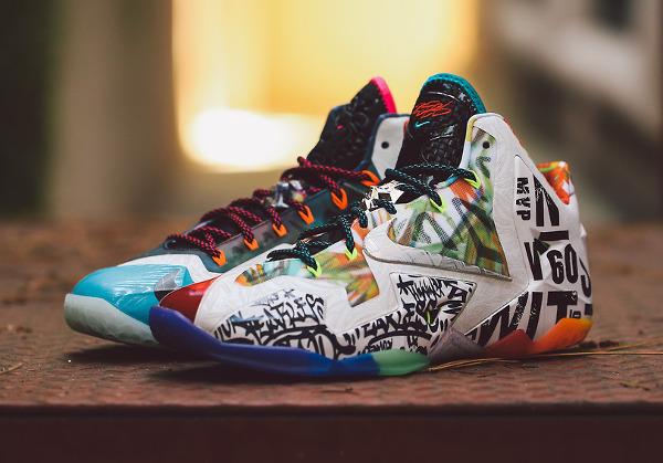 Nike Lebron 11 What The Lebron joli cliche (2)