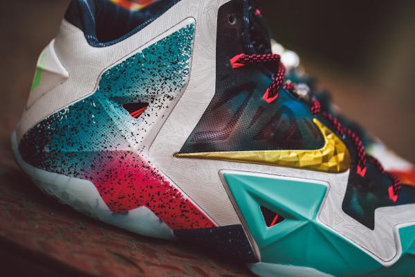 Nike Lebron 11 What The Lebron joli cliche (9)