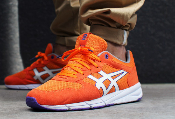 Onitsuka Tiger Shaw Runner Gold Autumn (Orange) (1)